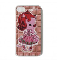 Necoco iPhone 4/4S Case Strawberry Cat