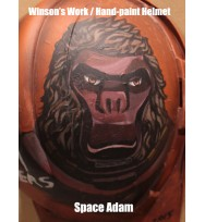 Hand Paint Helmet - Adam